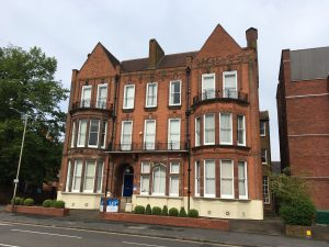 Colour photograph of 11 Granville Road, Leicester, formerly Granville School for Girls