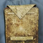 Photograph of University of Leicester Special Collections MS 210, Ethiopic manuscript, leather slip case