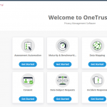 OneTrust privacy management software.