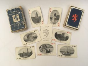 "Photograph of a selection of ""Souvenir Playing Cards: 52 Selected Views of Scotland"", c.mid-20th century"