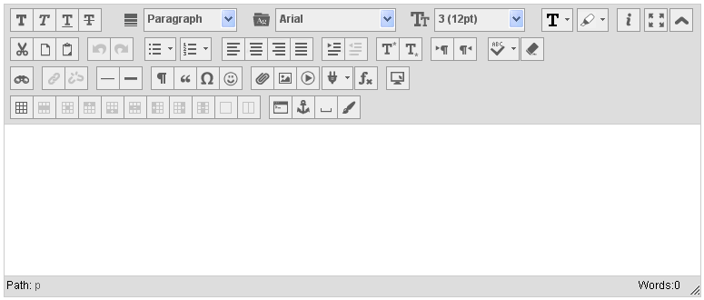 Blackboard Content Editor