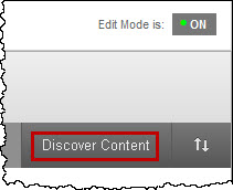 discover reusable content button