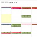 Four New Features in Blackboard. Part 2: The Calendar