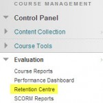 Four New Features in Blackboard. Part 3: The Retention Centre