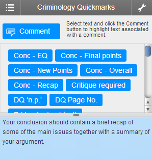 QuickMark Set (Criminology)