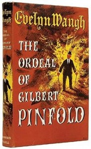 Original dust jacket for The Ordeal of Gilbert Pinfold