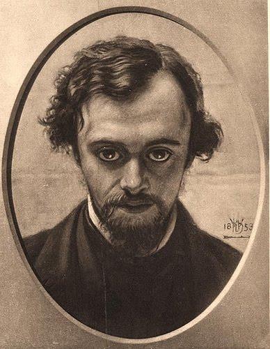 Portait of Dante Gabriel Rossetti