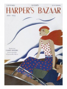 Front cover of Harper's Bazaar from July 1932
