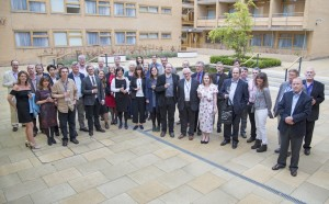 Waugh Conference delegates outside our beautiful College Court venue before the Gala Dinner!