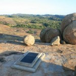 Cecil Rhodes' tomb in Matobo National Park.
