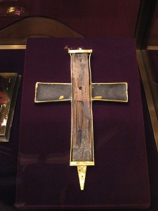 A fragment of the True Cross, Vienna. Source: Wikipedia