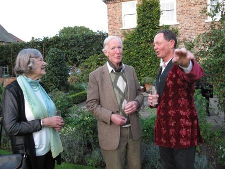 Charles Forbes Adam of Skipwith Hall with guests